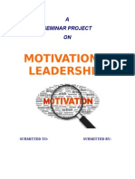MOTIVATION & LEADERSHIP-1.doc