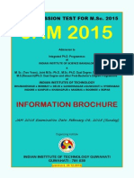 JAM2015 Brochure