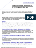 Morgan, Kenneth W. - Islam--The Straight Path - Islam Interp