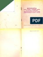1949 Rezolutia CC PMR 3-5 Martie 1949