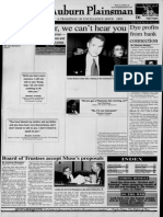 The Auburn Plainsman 12-3-1998