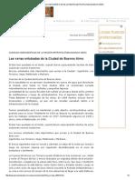 Cuencas Hidrográficas de La Región Metropolitana Buenos Aires