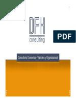 DFH - Proyecciones Economico-Financieras - Brochure