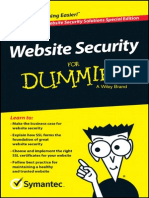 Symantec Website Security for Dummies En