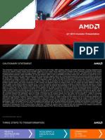 Q1 2013 AMD Investor Presentation