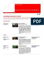 Swiss Events in New York,  April 2 - 15, 2015