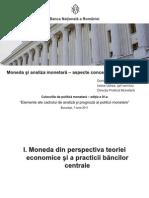 Moneda Si Analiza Monetara-Aspecte Conceptuale