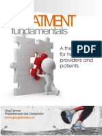 Treatment Manual and Therapy Map Greg Lehman Feb 2015