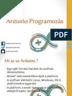 Arduino Programozás