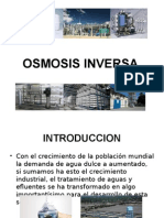 Osmosis Inversa Parte 1