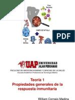 Teoría 1 Propiedades Respuesta Inmune UAP 2015_I