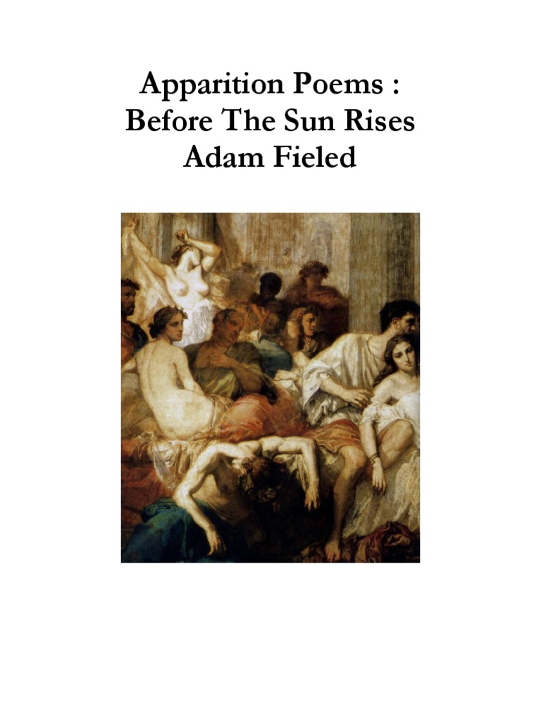 the poem before the sun essay Analysing the poem the caged bird sings english literature essay dips his wings / in the orange sun rays to tell it to do something before it.