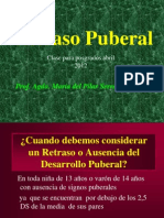 Clase Retraso Puberal
