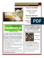 Newsletter - April 2015