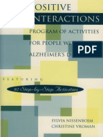 The Positive Interactions Program for People with Alzheimer's Disease (Nissenboim Excerpt)
