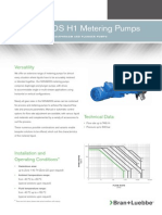 Metering Pumps H1 Series Novados Bl 104 UK