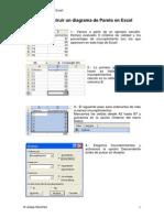 Diagrama de Pareto Excel