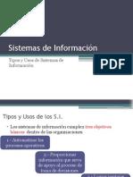 Tipos de Sistenas de Información