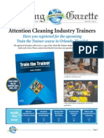 The Cleaning Gazette - April 2015