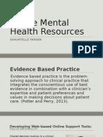EBP mental health.pptx