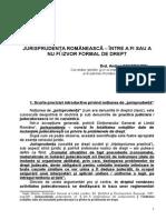 Jurisprudenţa Românească-sesiune 2008