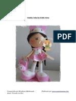 Molde Fofucha Hello Kitty