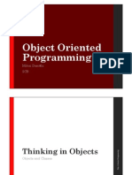 Thinking Objects, Inheritance Polymorphism