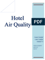 envl 3241 hotel air quality report generic