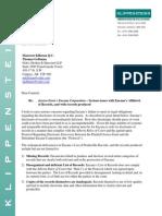 2015 03 27 Murray Klippenstein Letter to Encana via Oslers - Ernst v EnCana - Disclosure of Records