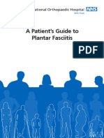 A Patients Guide to Plantar Fasciitis