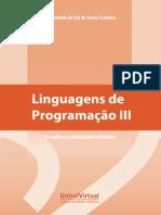 Livro Linguagens de Programacao III Unisul