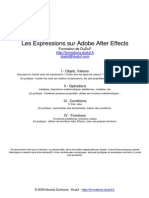 Expressions After Effects