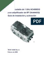 HFC Oa4444sg -1GHh NC4000sg