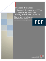 accessibility and universal design policy