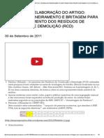 Estudo Para Elaboração Do Artigo_ Sistema de Peneiramento e Britagem Para Reaproveitamento Dos Resíduos de Construção e Demolição (Rcd) _ Sequóia