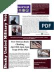 HUMV April Newsletter