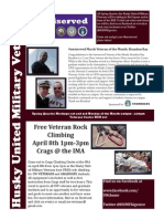HUMV April Newsletter