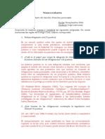 Pauta de Corrección Primera Evaluación 24 Septiembre 2014 Derecho Civil III