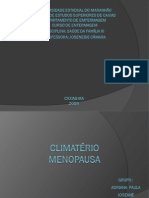 Slides Climatério e Menopausa