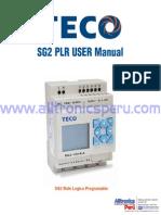 Teco SG2PLR Manual
