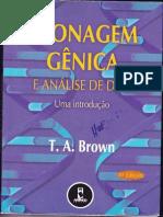CLONAGEM GENICA E ANÁLISE DE DNA