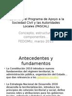 Concepto, Estructura, Componentes PASCAL, Marzo 2015
