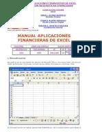 Manual Aplicaciones Financieras de Excel
