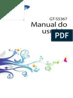 Manual Celular Gt-s5367 Tv Completo