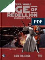 Age of Rebellion - Core Rulebook (SWA02) [OCR]