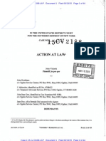S.D.N.Y. Vidurek v Koskinen - Action at Law - 1-15-Cv-02188_1