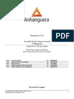 ATPS Algoritmo e Programação