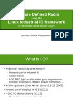 2015 Presentation SDR for Linux