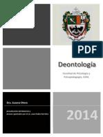 Apunte Deontología