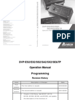 Delta PLC DVP ES2/EX2/SS2/SA2/SX2/SE/TP Operation Programming Manual